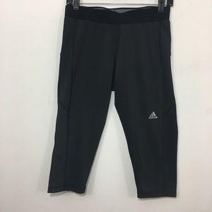 Adidas Men's techfit compression crop leggings L
